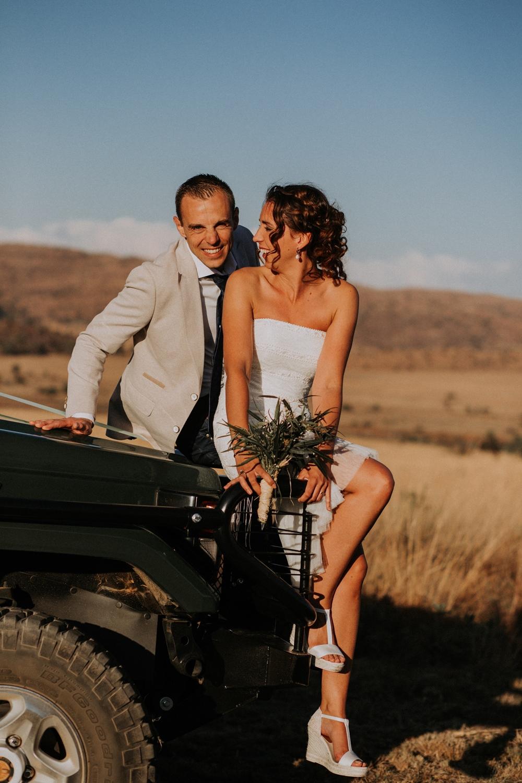 Foto's safari bruiloft